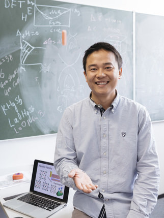 Binghai Yan has been working as a group leader in the solid-state chemistry department of Prof. Claudia Felser since 2012. In Feb 2017 he is appointed as an assistant professor in the department of condensed matter physics, Weizmann Institute of Science, Israel. In the new institute, he will continue his theoretical research on emerging topological materials, not least in cooperation with the Felser group.