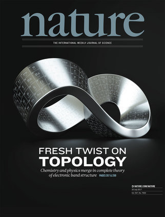 Researchers find path to discovering new topological materials, holding promise for technological applications.An international team of researchers has found a way to determine whether a crystal is a topological insulator — and to predict crystal structures and chemical compositions in which new ones can arise. The results, published July 20 in the journal Nature, show that topological insulators are much more common in nature than currently believed.