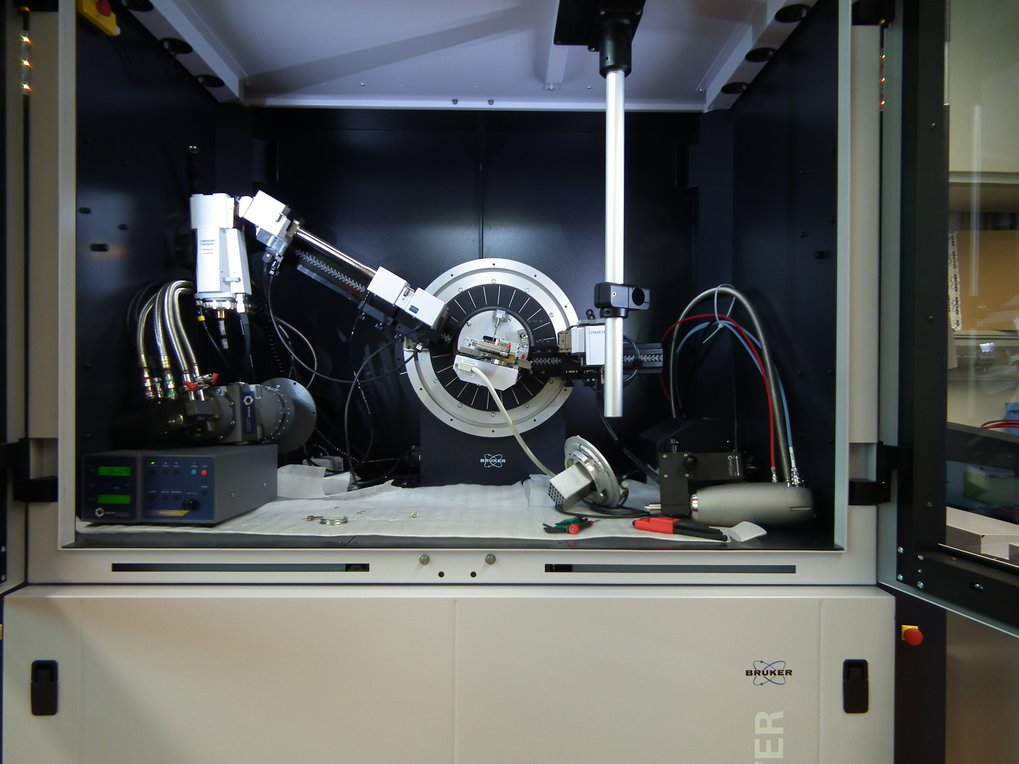 Pwd. X-ray diffractometer