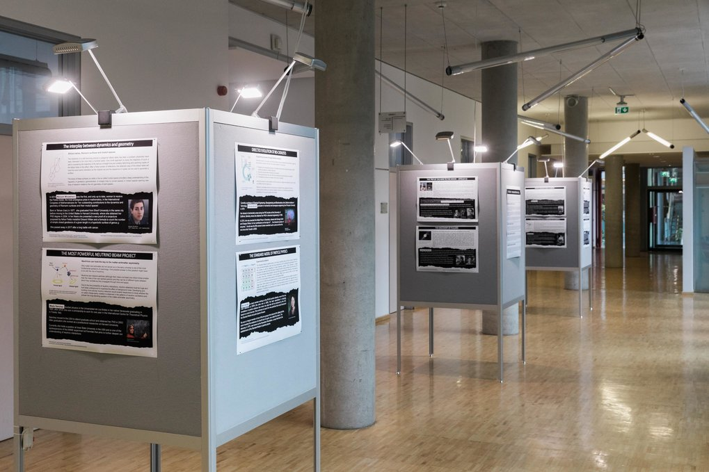 Exhibition at the MPI CPfS